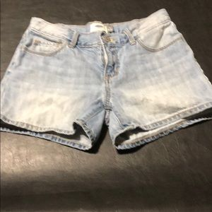 Girls Old Navy jean shorts size 12